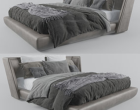 Baxter Metropolis plain bed 3D model