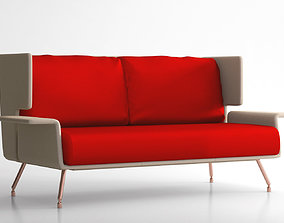 Knoll AA sofa lounge collection 3D