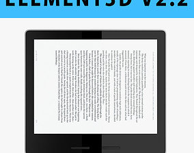 E3D - New Amazon Kindle Oasis 2017 3D model 3D