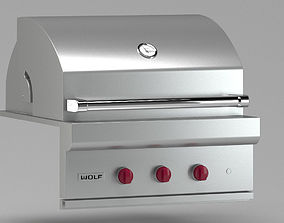Metal food grill 3D