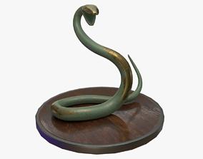 3D Snake Staue