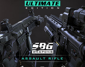 SBG Assault Rifle - Ultimate Edition 3D model