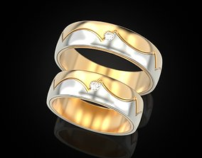 Wedding ring 86 3D print model