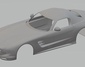 Mercedes Benz SLS AMG Printable Body Car
