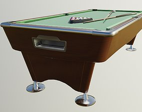 3D model realtime pool table