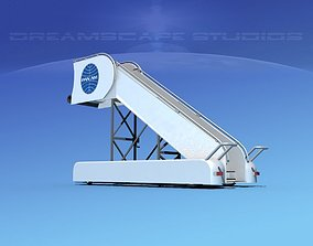 3D Airport Stairs Pan Am