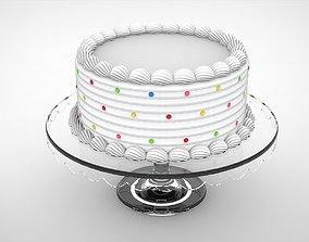 3D Cake in glass holder