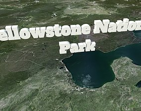 Yellowstone National Park 3D model
