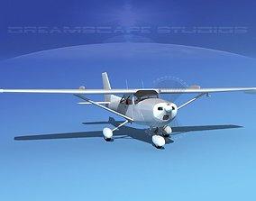 Cessna 172 Skyhawk STOL Bare Metal 3D