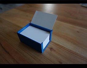 3D print model Business card holder petg