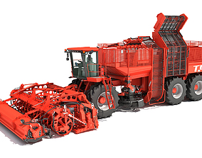 3D Holmer Potatoes Sugar Beet Harvester