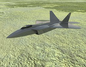 3D print model F 22 Raptor