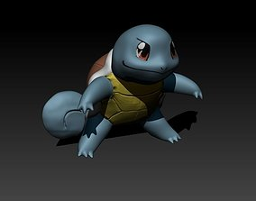 Squirtle 3D printable model