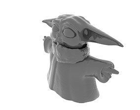 3D print model cute Baby Yoda The Child Fan Art Toy