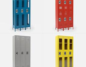 Metal Lockers 3D model