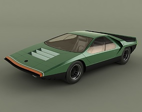 Alfa Romeo Carabo 3D model