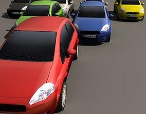 3D model Grande Punto Multi Color