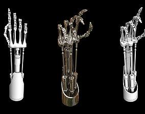 3D model Mechanical Hand