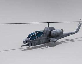 3D model AH-1 Cobra