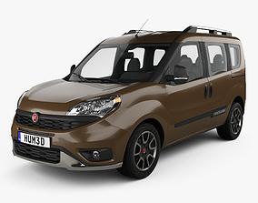 Fiat Doblo Trekking 2015 3D model