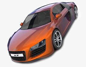 Audi R8 New Pearlescent 3D model