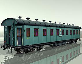 3D railcar Passenger wagon M20