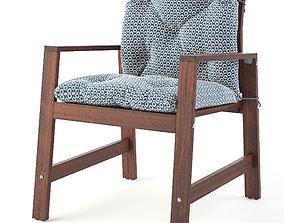 3D model APPLARO and YTERRON chair set