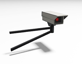 Security Camera security 3D asset VR / AR ready