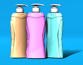 Samurai diamond shampoo bottle 3D printable model