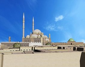 Mosque of Muhammad Ali 3D model VR / AR ready