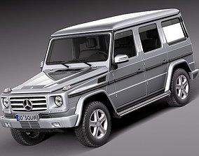 Mercedes G-class- 2013 3D