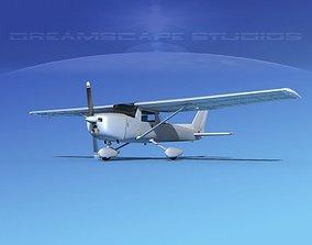 Cessna 152 Aerobat Bare Metal 3D