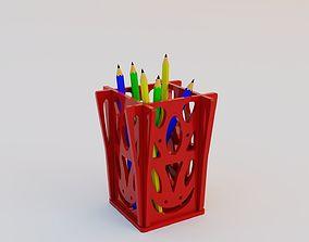 3D print model Style pen holder