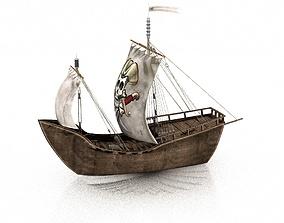 boat 3D Pirate Ship
