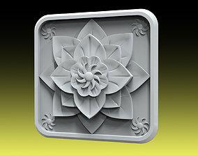 Rosette 034 3D printable model
