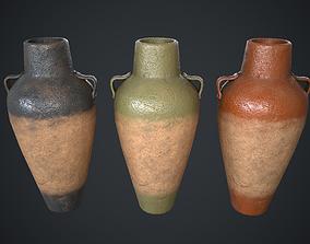 3D model Vase Old Painted