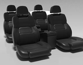 3D model Seat Car