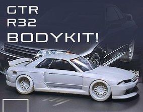 blackbox GTR R32 BODYKIT For tamiya 1-24 Modelkit