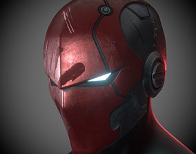 3D print model Red Hood Helmet