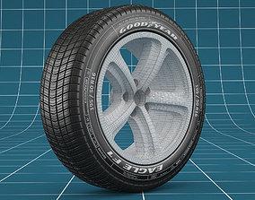 Car tire 03 3D model