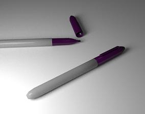 3D model Purple Markers