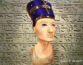 Nefertiti Bust 3D print model