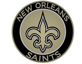 New Orleans Saints disc 3D