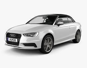 Audi A3 cabriolet 2014 3D
