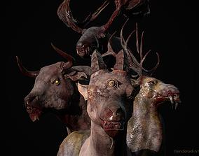 3D PBR Ancient Beast Mega Pack