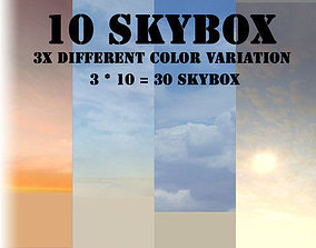 3D asset Skybox Pack for games