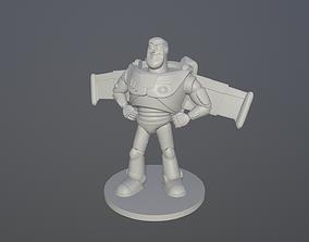 Buzz print ready for FDM or SLA 3D printable model