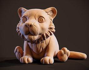 3D printable model Little Tiger Toy