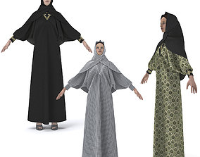 3D model CLOTHING ARABIC ABAYA