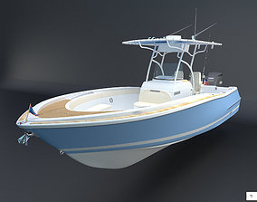 Catalina Chris Craft boat 26 3D model